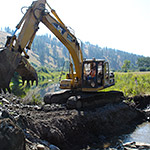 Restoration at Middle Fork John Day River