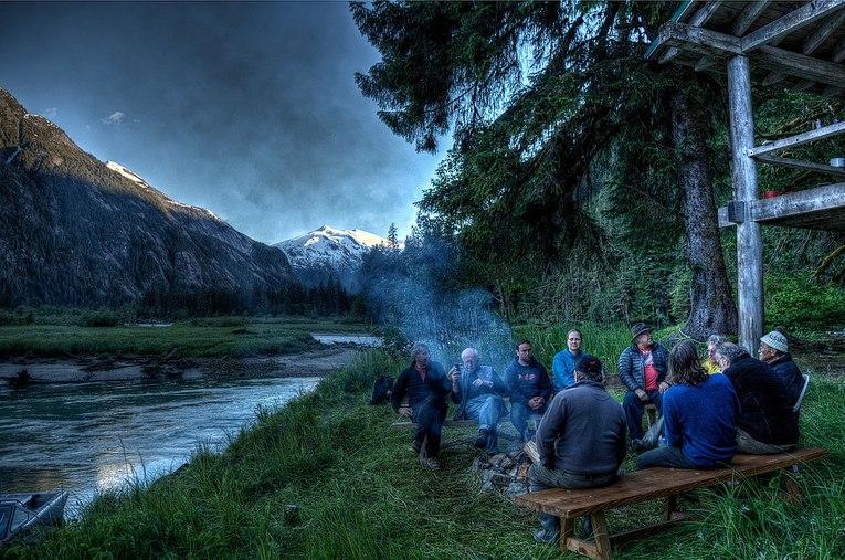 Kawesas campfire