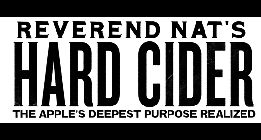 Reverend Nat's Hard Cider logo